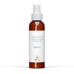Bergamot ~ Organic Aloe Vera Soothing & Hydrating Floral Milky Mist