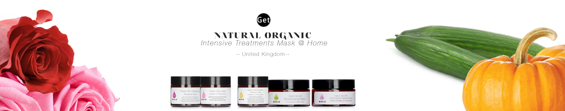 Natural Organic Intensive Treatments Masks